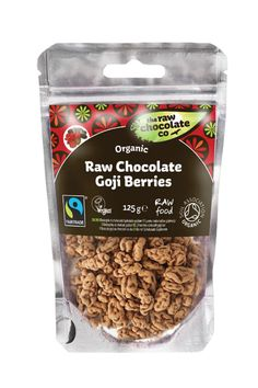 The Raw Chocolate Company Organic Goji Berries - delicious and morish!!  A special healthy treat!
