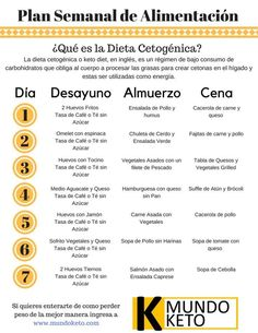 16 Infografías para entender a la perfección la dieta keto You can even find plans like this that will make it easier for you to start the keto diet. 16 infographics to perfectly understand the keto d Diet Plan Menu, Keto Meal Plan, Food Plan, Meal Prep, Low Carb Meal, Keto Food List, Best Keto Diet, No Carb Diets, Best Diets