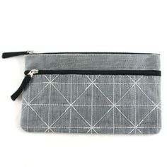 Mozzie Net Cosmetic Case - Grey