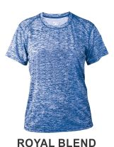 9a70092b9 ROYAL BLEND LADIES PERFORMANCE TEE BY BADGER 4196 Fastpitch Softball,  Softball Jerseys, Short Sleeves