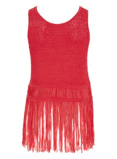 Repin to win #rushthestage Coral Fringe Tape Vest @Internacionale Rock Chick, Beauty Must Haves, Cool Style, My Style, Cheryl, Lbd, Dress Me Up, Fashion Outfits, Womens Fashion
