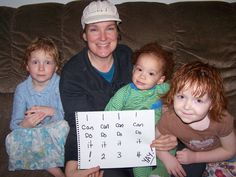 My amazing kiddos and me...we WILL DO IT in 2012!