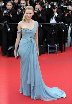 Les plus belles robes du Festival de Cannes Naomi Watts en robe Marchesa et bijoux Bulgari