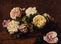 French Painters: FANTIN-LATOUR Henri