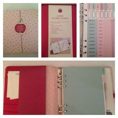 New Personal Planner in Berry from kikki.K