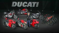 Italian two-wheeler company Ducati has unveiled an aggressive new lineup of production sport motorcycles ahead of the Milan Motorcycle Show today. It's a massive infusion of new product which sees a new halo superbike for the brand, a new … American Motorcycles, New Motorcycles, Scrambler Sixty2, New Ducati, Motorcycle News, Girl Motorcycle, Motorcycle Quotes, New Halo