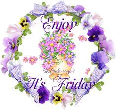 Enjoy. It's Friday