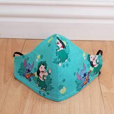 Cute Disney Outfits, Cool Masks, Fashion Mask, Disney World Trip, Disney Drawings, Lilo And Stitch, Adult Children, Flower Shape, Purple Flowers