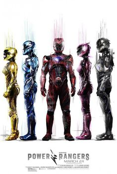 New Movie Posters for Power Rangers