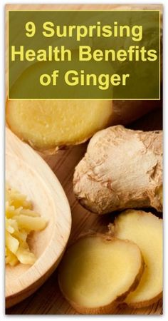9 Surprising Health Benefits of Ginger - Natural Holistic Life #ginger #health #natural #holistic