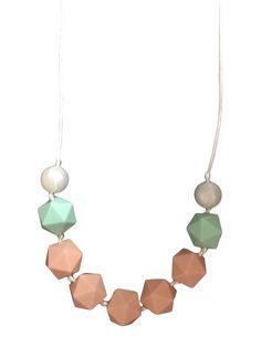 Sweet Peach Minze Zahnen-Halskette