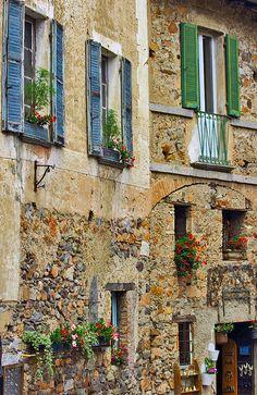Carona, Ticino by elvetino and dide