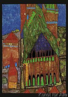 Friedensreich Hundertwasser - Kathedrale