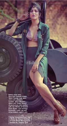 Shruti Haasan Smoking Hot & Sexy Scans From Cosmopolitan Magazine July 2015