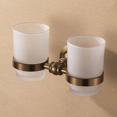 28.49$  Buy now - https://alitems.com/g/1e8d114494b01f4c715516525dc3e8/?i=5&ulp=https%3A%2F%2Fwww.aliexpress.com%2Fitem%2FAntique-double-cup-holder-bathroom-double-cup-rack-holder-hardware-bath-sets%2F32257047694.html - Antique double cup holder bathroom double cup rack holder hardware bath sets bathroom antique accessories