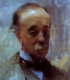 John Singer Sargent - Portrait of his Father