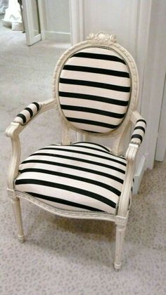 French bergere chair