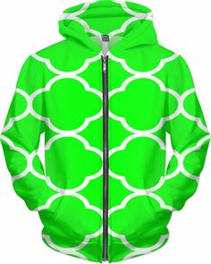 Neon Deejay Lucky Irish Dubstep Trip Custom Rave Rebel Revolution Street Style Zip Hoodie by Willy Badu. On sale for 89.99 for a limited time only.