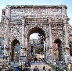Roma - Arco di Settimio Severo (Fori)