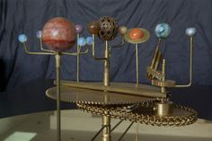 Brass Orrery plans
