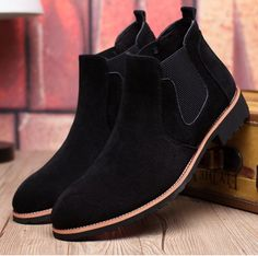 Men's Nubuck Chelsea Boots