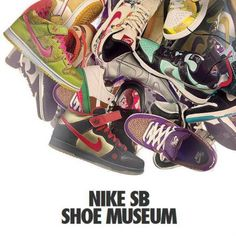 NIKE SB SHOE MUSEUM #sneaker