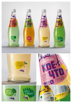 Sparkling beverages line. Gallery of the best packaging of Russia 2013