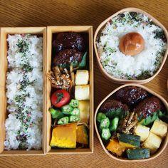 ハンバーグ Japanese Lunch Box, Japanese Food, Bread Packaging, Bento Ideas, Bento Box Lunch, Eat Smart, Rice Dishes, Asian Recipes, Oriental