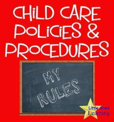 Little Stars Learning: Policies & Procedures