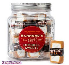 Just found Mitchell Sweets Caramel Covered Marshmallows: 6-Ounce Glass Jar @CandyWarehouse, Thanks for the #CandyAssist!