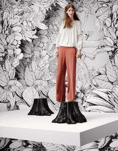 Joie Blouse & Pants available at Flower Installation, Illustrations, Studio, How To Draw Hands, Design Inspiration, The Incredibles, Blouse, Pants, Art Director