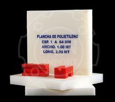POLIETILENO  Nombres Comerciales APM  - NITALEN  PEAD - HDPE  PRESENTACIÓN • PLANCHAS: Ancho: 1.00 mt / Longitud: 2.00 mt / Espesores: 4 a 64 mm.