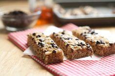 granola bars. No bake & with rice krispies and honey! #granola