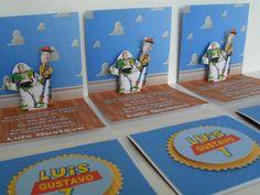 convite toy story scrapbook - Pesquisa Google