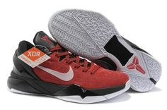 Nike Zoom Kobe 7 (VII) System Varsity Red White Black from Reliable Big Discount! Cheap Nike Air Max, Nike Air Jordan Retro, Air Jordan Shoes, Kobe Shoes, New Jordans Shoes, Nike Factory Outlet, Nike Outlet, Basket Pas Cher, Under Armour