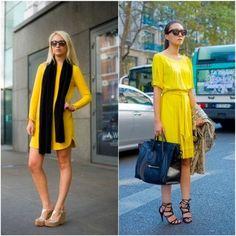 Amarelo look