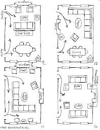 Living Room Set Up layouts - rectangular sitting rooms - | furniture layout, sitting