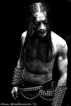 Frost of Satyricon (Nor) - Awesomeness!
