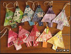 fabric tree ornaments