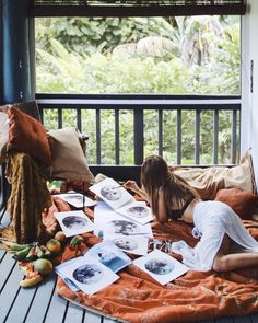 The YoHome Diary; A peek inside the creative mind of DreamyMoons founder 'I spent my childhood exploring, reading and painting. To me art is an important and natural part of my life. What inspires my art now is my fascination w Moon Painting, Watercolor Paintings, She's A Witch, Bohemian Art, Cozy Place, Kauai, Art Inspo, Character Inspiration, Creative Design
