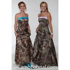 This camo formal can be worn as an informal wedding gown, prom or any other special occasion. Lots of accessories are available in Mossy Oak New Breakup camouflage. Camo Homecoming Dresses, Camouflage Prom Dress, Alfred Sung Bridesmaid Dresses, Camo Wedding Dresses, Lavender Bridesmaid Dresses, Pretty Prom Dresses, Camo Dress, Camouflage Wedding, Amigurumi