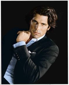 "International Polo player and Ralph Lauren model, Ignacio ""Nacho"" Figueras"