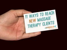 Reach more massage therapy clients   #FIRSTCorvallis www.FIRSTCorvallis.com @FIRSTCorvallis