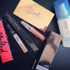 My monthly haul is up! Gonna be doing this every month I think! Link in bio check it out!  #makeup #makeupjunkie #makeupaddict #makeuphaul #makeupvideo #tjmaxx #ulta #ultahaul #drugstoremakeup #drugstorehaul #instamakeup #motd #makeuplife #makeupoftheday #toofaced #maybelline #flowerbeauty #beccacosmetics #sleek #sleekmakeup #instalike #makeupblogger #beauty #beautyblog #makeuplover