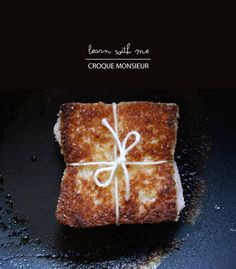 How to make a Croque Monseiur (crispy crunchy)! #recipe