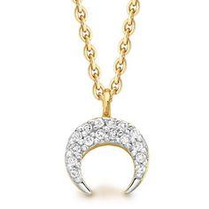 Diamond horn necklace - Missoma