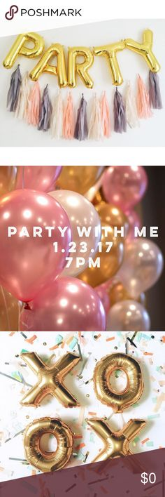 I'm Co-Hosting A Party!!! I'm so excited and humbled to yet again be hosting another party! I can't believe this will be my 5th time co-hosting a party. I really enjoy this opportunity because there are so many amazing closets I discover in the process of choosing Host Picks. Please like this posting if you would like to be updated on what theme this party will be. Tag you PFF's! Join me on Jan. 23 @ 7pm!!! In the meantime I will be stalking closets to find posh compliant and amazing…