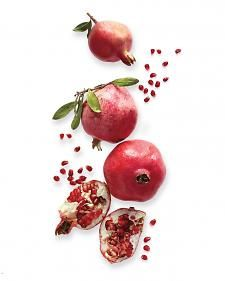 """Pomegranate Body Scrub. Part of me is, like, """"noooooo ... you must EAT the luscious pomegranate."""" And the other part of me is all, """"But food goes on your skin!"""" Either way. Yum."""