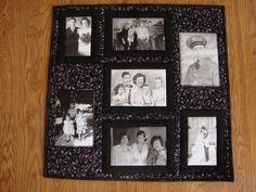 Mom's memory quilt