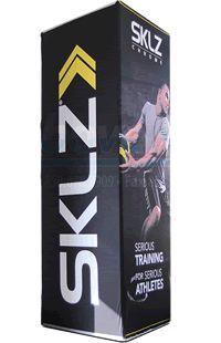 Check out this uniquely designed #triangular vertical #display for your business advertising.